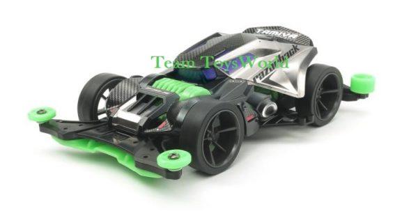 Mini4wd Razorback Green
